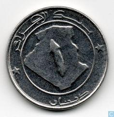 Coins - Algeria - Algeria 1 dinar 2003 (year 1424)