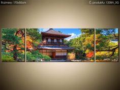 Tlačený obraz Farebná záhrada 170x50cm 1208A_3G
