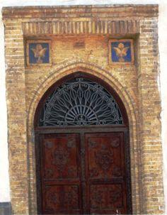 Sadu House door - Kuwait