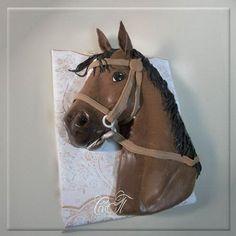 "Cake ""Horse Head"""