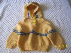 Hey, I found this really awesome Etsy listing at https://www.etsy.com/listing/86419008/hand-knitted-baby-sweater-with-hood