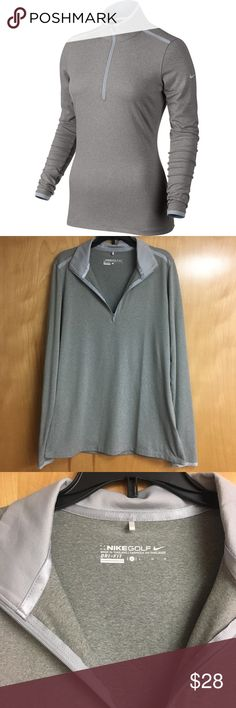 Nike Golf pullover Worn only a couple times! Size large! Nike Tops Sweatshirts & Hoodies