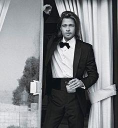 Brad Pitt para Chanel Nº5