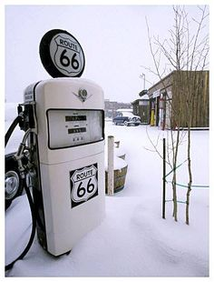 winter on Route 66