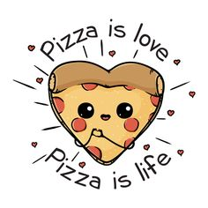 Displate Poster Pizza is love Pizza is life pizza kawaii Pizza is love Pizza is life Funny Poster Print Cute Food Drawings, Cute Kawaii Drawings, Pizza Drawings, Food Drawing Easy, Cute Drawings Tumblr, Pizza Kunst, Griffonnages Kawaii, Cute Pizza, Funny Pizza