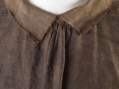 Shirt (Ensemble) | Museum of London Sailor's suit, cautious dating 1600-1700 collar, front