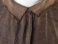 Shirt (Ensemble)   Museum of London Sailor's suit, cautious dating 1600-1700 collar, front