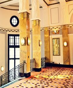 Art Deco Shanghai on Behance - Hotels Design Architecture Art Deco Decor, Art Deco Stil, Art Deco Home, Art Deco Design, Decoration, Architecture Design, Vintage Architecture, Shanghai, Art Nouveau