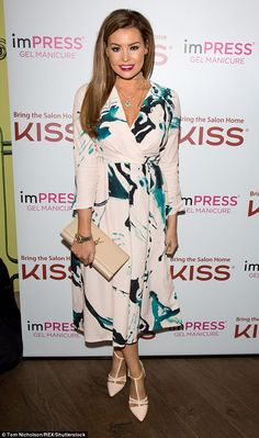 TOWIE's Jessica Wright proved to be slowly but surely shedding her stereotypical Essex image as she looked untypically ladylike at a beauty event in London on Wednesday evening