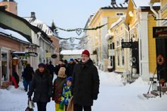 Old town is full of small shops and restaurants. Christmas Town, Small Shops, Old Town, Finland, Restaurants, Street View, Shopping, Old City, Restaurant