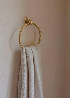 Belt Hanger, Towel Hanger, Brass Bathroom, Bathroom Hardware, Kitchen Hardware, Brass Hardware, Modern Luxury Bathroom, Towel Holder Bathroom, Black Towels