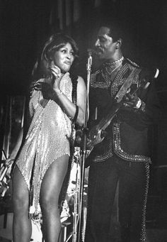 Ike and Tina Turner perform on stage in Amsterdam Netherlands 1971
