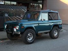 Convertible Bronco | When cars were cars and Ford ruled the … | knightbefore_99 | Flickr