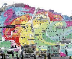 Inaugura el presidente Enrique Peña Nieto, hoy, el mural más grande del país