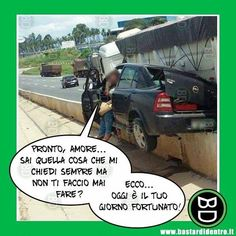 #bastardidentro #auto #incidente #ipnoticamentebastardidentro www.bastardidentro.it