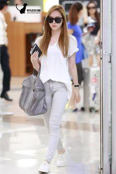SNSD Jessica Airport Fashion 130717 2013