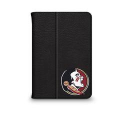 Florida State University Black Leather Printed iPad Folio, Classic
