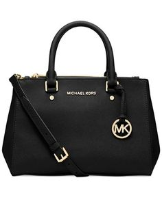 MICHAEL Michael Kors Sutton Small Satchel - Handbags & Accessories - Macy's