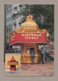 MAXIMUM POSTCARD PORTUGAL architecture LISBON LISBOA KIOSK 1985 LISBONNE | Stamps, Europe, Portugal & Colonies | eBay!