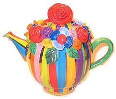 What a fun teapot