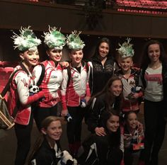 The girls with the judges after awards! DK USA is judged by kids, little dancers to be exact. Even backstage and everything is handled by them.
