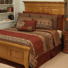 Sandpainting Bedding Collection Western Bedding, Rustic Bedding, Western Bedrooms, Modern House Plans, Small House Plans, Luxury Duvet Covers, Luxury Bedding, Southwest Bedroom, Couple Bedroom