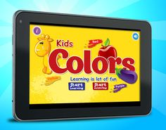 """An amazing app to learn colors names and play quiz activities. The two main features of """"Start Learning"""" and """"Start Activity"""" open the door of learning and lots of joy."""