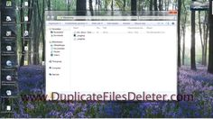 http://DuplicateFilesDeleter.com   Duplicate Files Deleter is advanced duplicate files manager for finding and deleting duplicates.   Duplicate Files Deleter features:   Fast duplicate files scanner  Copying, deleting, renaming, moving duplicate files  Auto-selecting found duplicate files to be removed/copied/moved  100% accurate byte by byte comparison of files