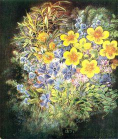 Flowers - Kateryna Bilokur