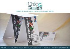 2ème mouture des cartes de visite incluant les logos Réseaux sociaux