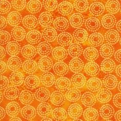 Lift Your Spirits Cotton Fabric - Orange - Quilt Fabric