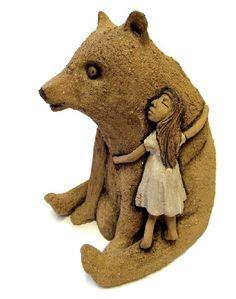 Päivi Vesterbacka ceramics Ceramic Art, Teddy Bear, Ceramics, Album, Toys, Animals, Ceramica, Activity Toys, Pottery