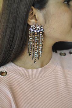 Bejewelled Tassel Earrings – Jumkey Fashion Jewellery