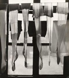 Stockings drying in the window, 1966 (János Szász)