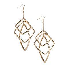 Jaded drop earrings