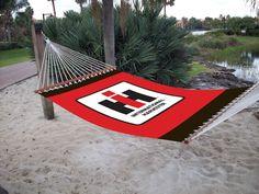 International Harvester Logo 40 x 76 Hammock