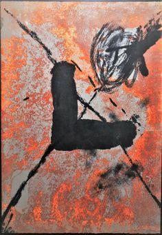 """Antoni Tapies - """"L sur rouille"""" Grabado aguafuerte, Famous Art, Joan Miro, Art Of Living, Contemporary Artists, Impressionism, Great Artists, Art History, Surrealism, Art Nouveau"""