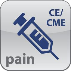 Pain Management CE Mobile App: Pain Management Continuing Education CE/CME - Seven of the U.S. states require physicians to maintain CME credit in pain management. Find accredited materials covering chronic pain, medication management, ethical and legal issues, etc. --- Visit www.CEAppCenter.com