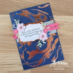 Tanya Rees Papercraft: May 2019 Everything's Rosie, Label Shapes, Happy Birthday Gorgeous, Gold Foil Paper, Beautiful Handmade Cards, Time To Celebrate, Pretty Cards, Card Kit, Flower Cards