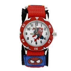 $4.76 (Buy here: https://alitems.com/g/1e8d114494ebda23ff8b16525dc3e8/?i=5&ulp=https%3A%2F%2Fwww.aliexpress.com%2Fitem%2F2016-Children-Cartoon-Spiderman-Watch-Fashion-Boys-Kids-Students-Spider-Man-Nylon-Sports-cartoon-watch-Analog%2F32638719629.html ) 2016 Children Cartoon Spiderman Watch Fashion Boys Kids Students Spider-Man Nylon Sports cartoon-watch Analog quartz watch for just $4.76