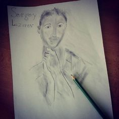 """My drawing  #drawing #pencildrawing #my #sergeylazarev #eurovision #russia #pencil #draw #picture #myphoto #3hours #sergey #byme #by """"My love is rising, the story's unwinding Together we'll make it and reach for the stars"""""""