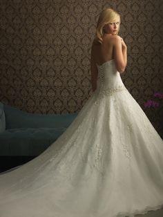 This was the Allure Bridal dress that I chose & wore -  I bought it at Lili's Bridal Tarzana<3
