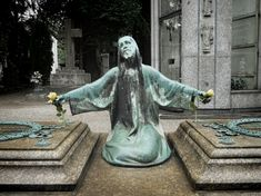 "Stop all the clocks The Cimitero Monumentale (""Monumental Cemetery"") is one of the two largest..."