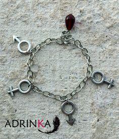 Pulsera AMORAMOR por Adrinka en Etsy, €12.00 Charmed, Bracelets, Etsy, Jewelry, Handmade Gifts, Hand Made, Bracelet, Jewlery, Bijoux
