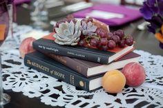 book centerpieces!