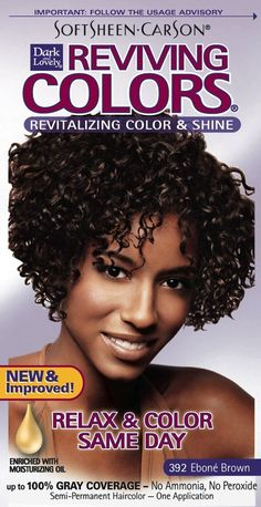 Dark and Lovely Reviving Colors - -331/392 Hair Color - Brown Kit (Pack of 2) ** Want additional info? Click on the image.
