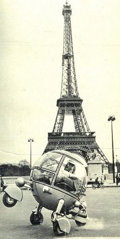 french bubble car