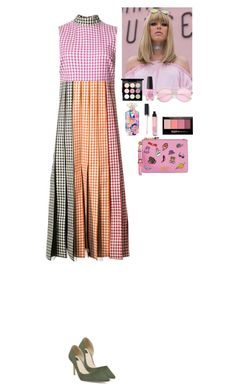 """""""Outfit"""" by eliza-redkina ❤ liked on Polyvore featuring Christopher Kane, White House Black Market, Moschino, Maybelline, OPI, Victoria's Secret, MAC Cosmetics, StreetStyle, outfit and like"""
