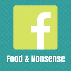 Lets Connect! I share #nutrition stories & #healthy tips at my Food & Nonsense Facebook Page! https://www.facebook.com/FoodandNonsense