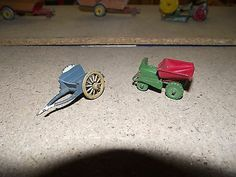 Lesney Moko Dumper Truck & Britains Tumbrel Horse Car (2 Items) Unboxed - http://www.matchbox-lesney.com/48347